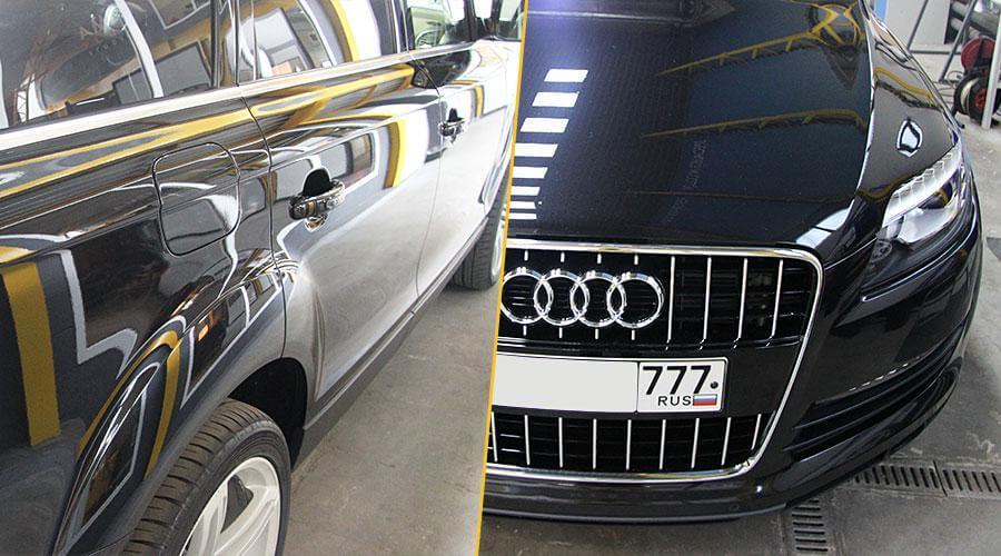 Полировка кузова Audi Q7