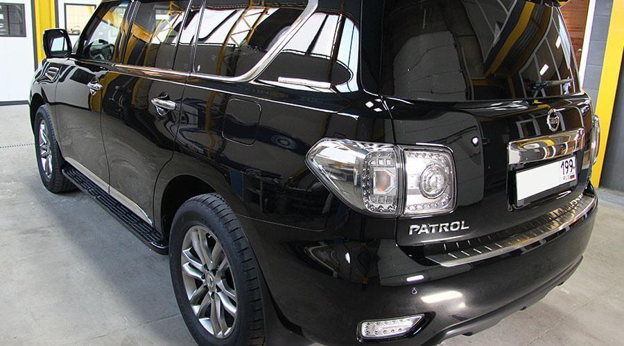 Восстановительная полировка Nissan Patrol