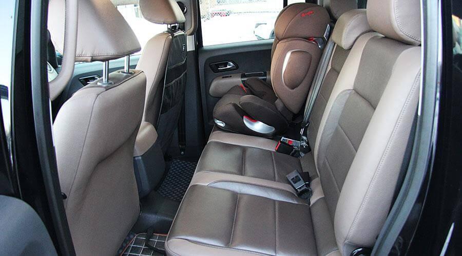 Комплексная перетяжка сидений Volkswagen Amarok