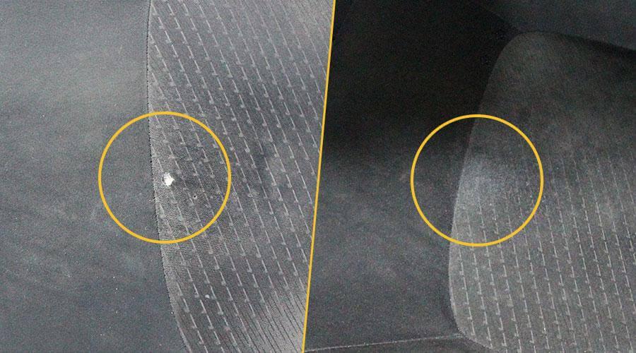 Устранение прожога на виниле Nissan X-Trail