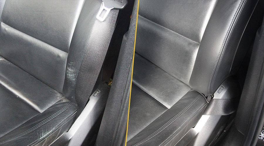 Локальный ремонт сиденья BMW