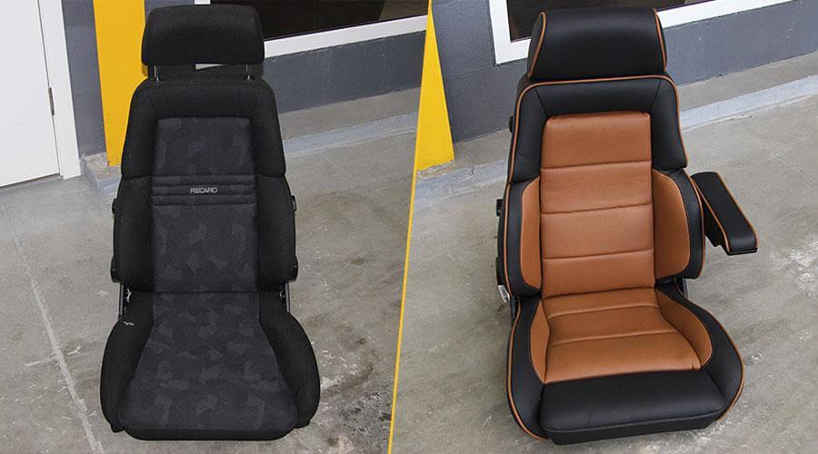 Перетяжка сидений с изменением анатомии Hummer