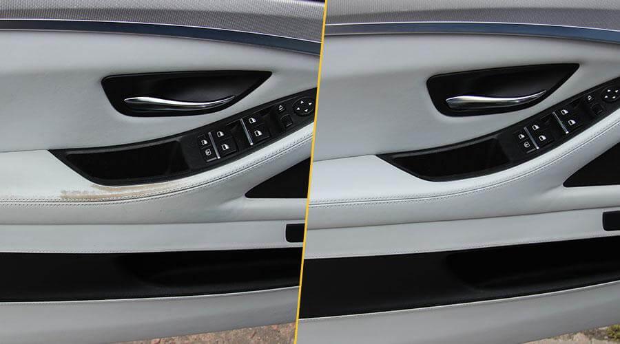 Комплексная реставрационная покраска салона BMW M5