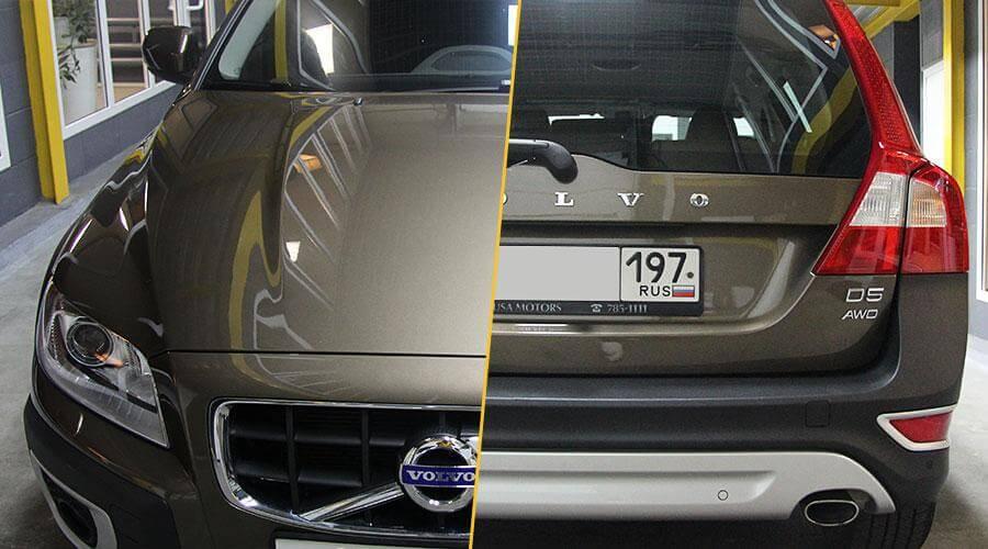 Восстановительная полировка Volvo XC70