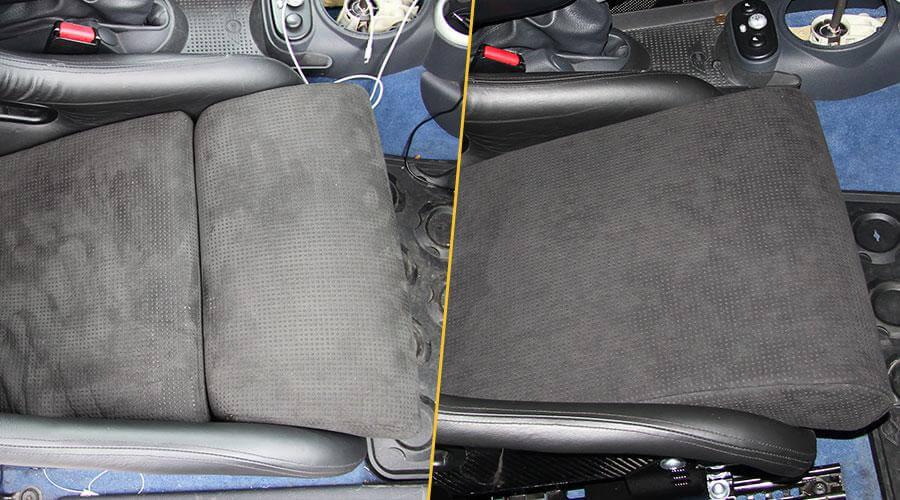 Перешив передних сидений с изменением плотности наполнителя MINI Cooper