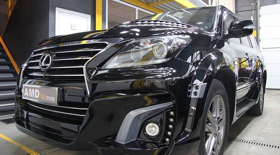 Защитное покрытие Opti-Coat Pro Lexus LX-570