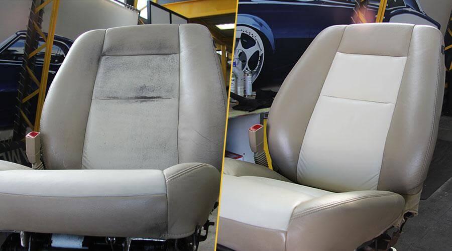 Реставрация и покраска сиденья Ford Explorer