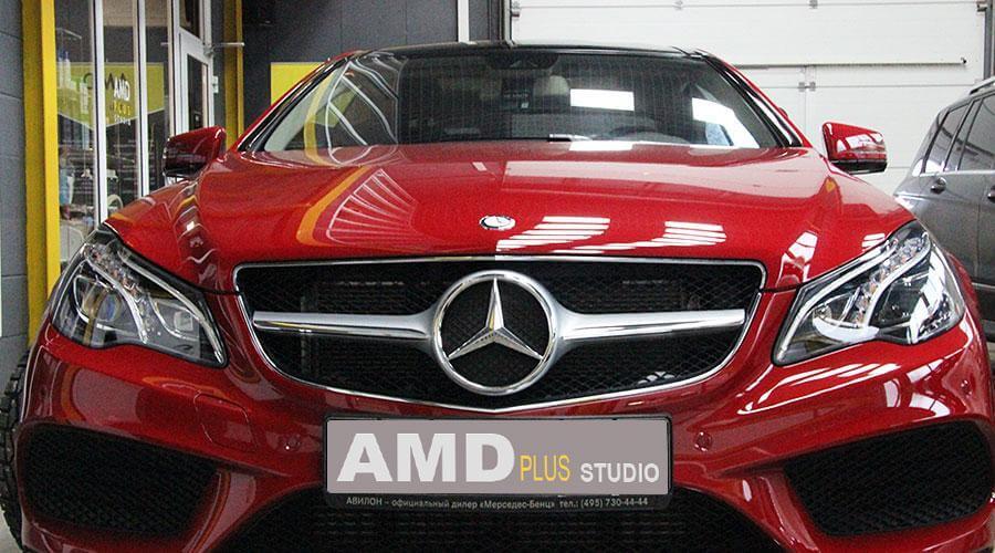 Защитная полировка Mercedes E 200