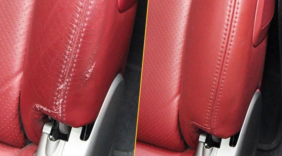 Ремонт обшивки сиденья Porsche 911