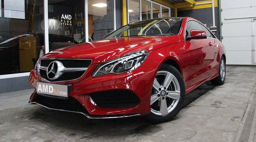 Восстановительная полировка Mercedes E 200