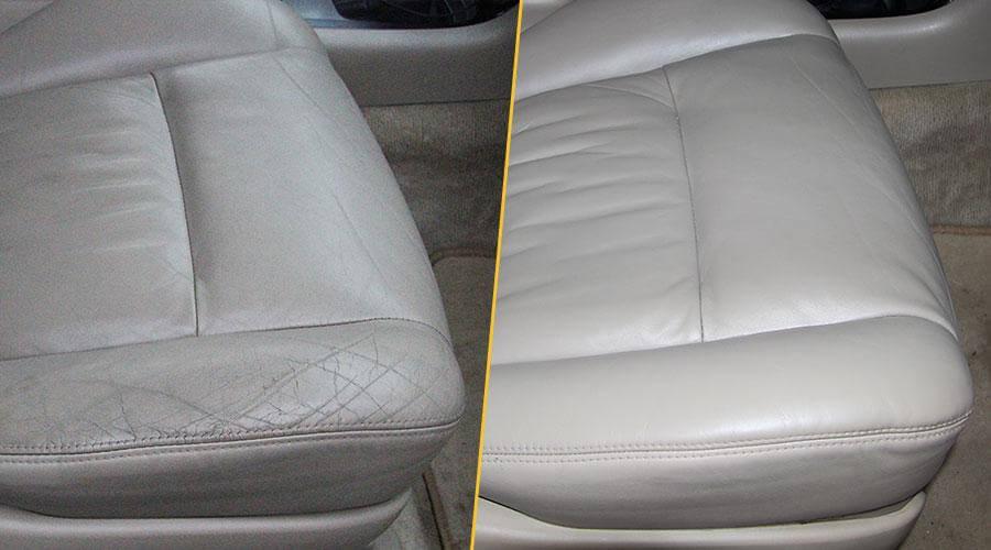 Покраска сиденья Toyota Land Cruiser