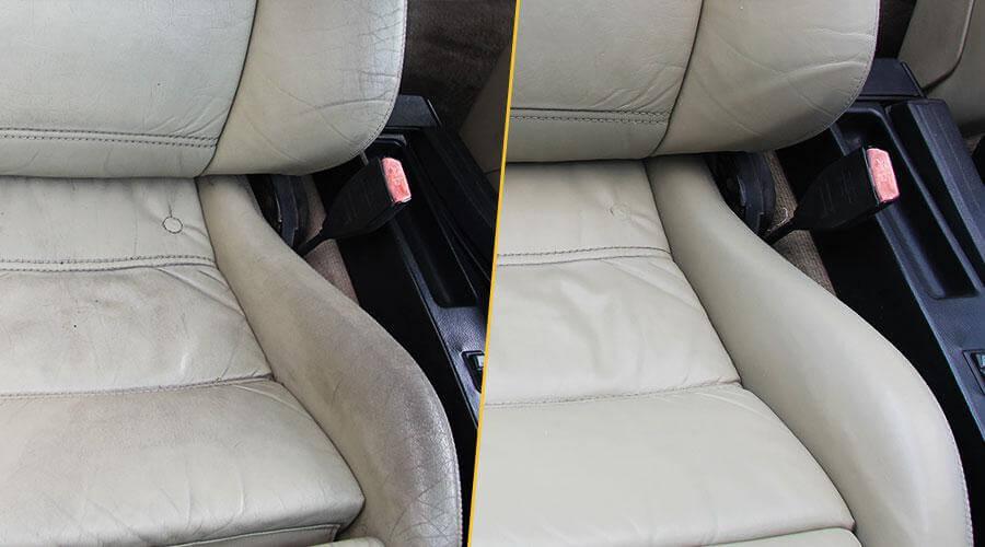 Ремонт салона и покраска сидений BMW E30