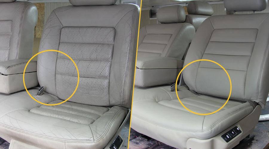 Реставрация сидений авто Cadillac Eldorado 1973