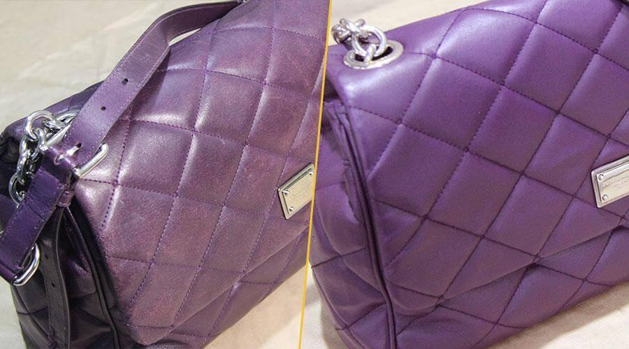 Ремонт и покраска сумки