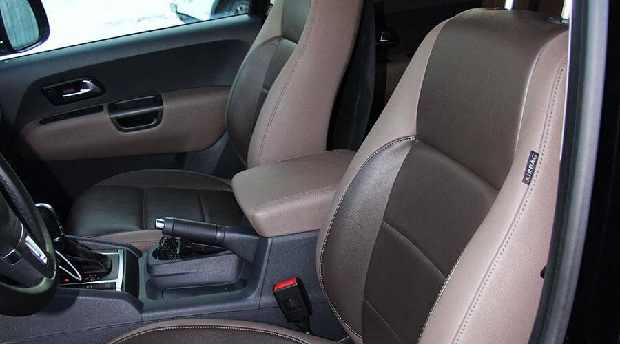 Перетяжка салона авто Volkswagen Amarok