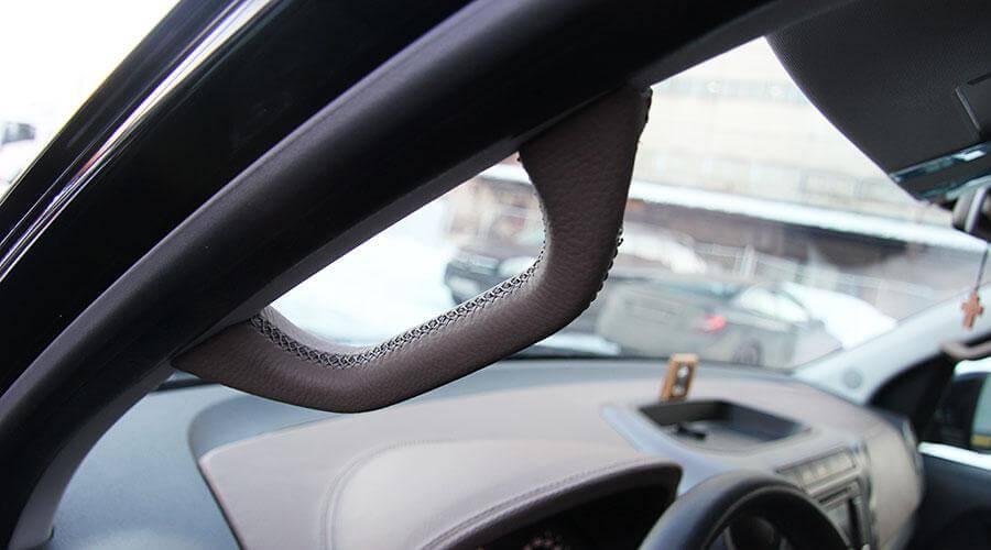 Перетяжка 4х ручек на стойках Volkswagen Amarok