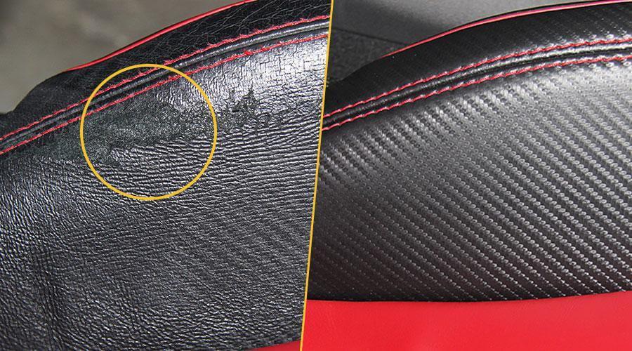 Замена поврежденного элемента переднего кресла Audi R8