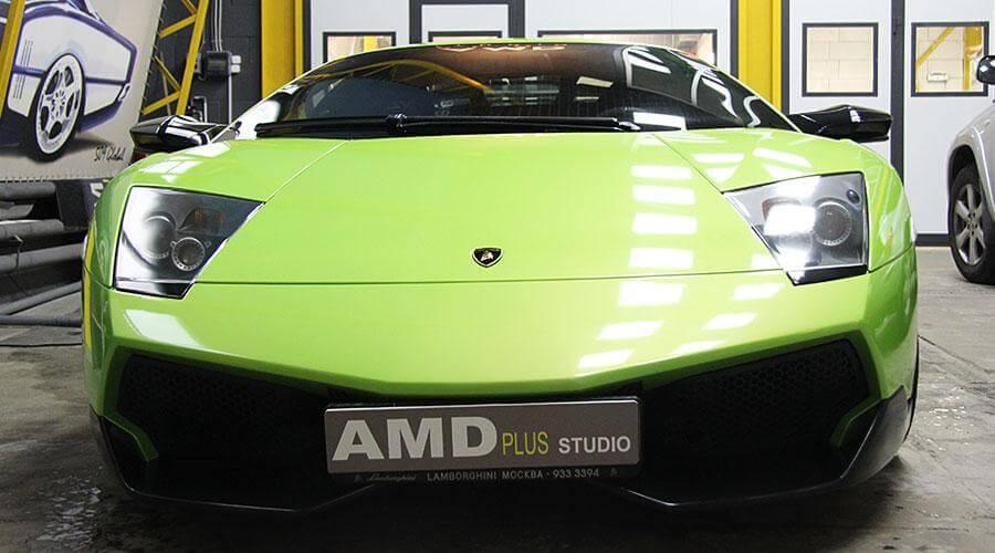 Сервисное обслуживание защитного покрытия Lamborghini