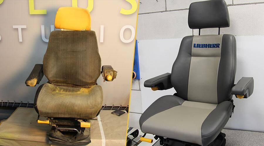 Комплексная реставрация 2х сидений