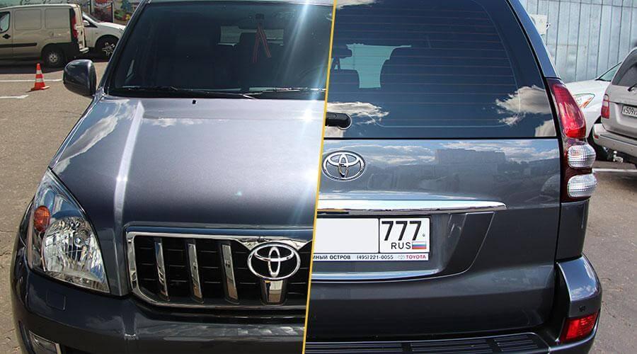 Защитное покрытие Gloss-Coat Toyota Prado