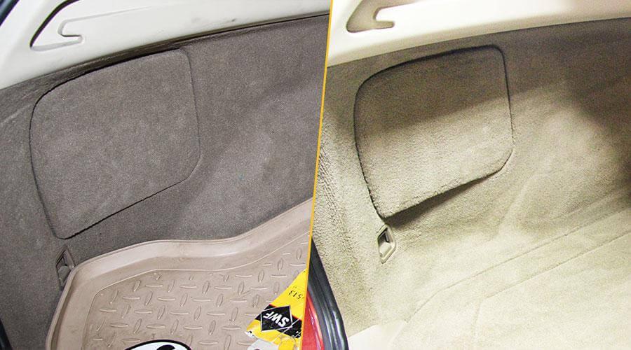 Комплексная химчистка со снятием сидений Volvo XC60