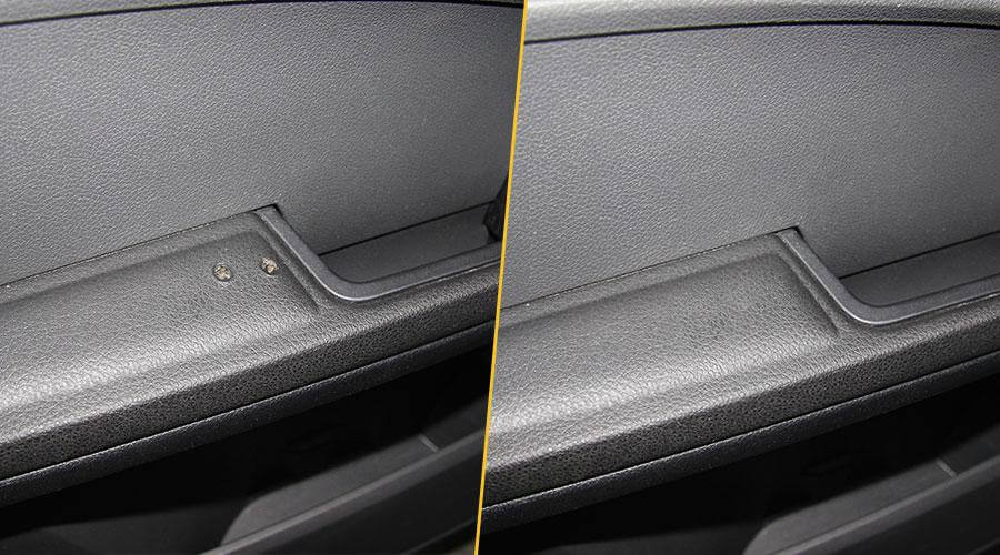 Удаление прожога на пластике Ford C-Max