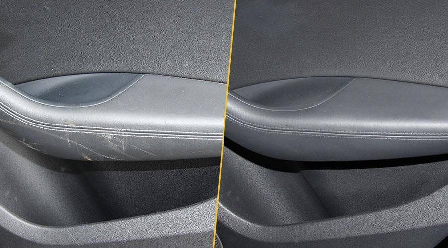 Устранение царапины Audi Q5