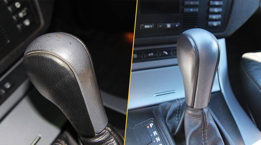 Покраска ручки АКПП BMW X5
