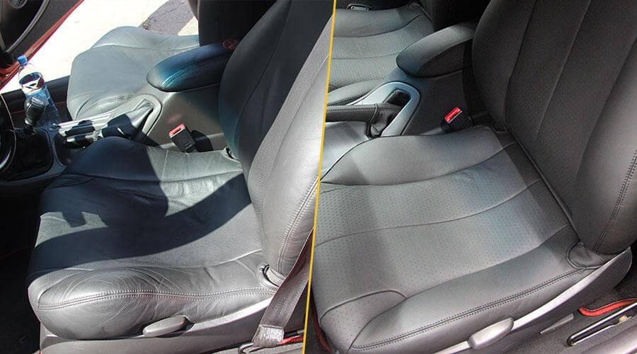 Перетяжка передних сидений Ford Cougar