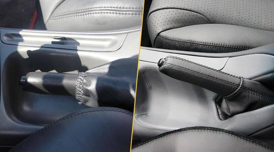 Перетяжка ручника Ford Cougar