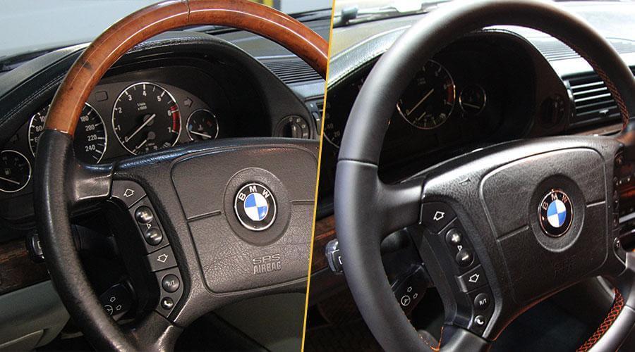 Перетяжка руля BMW 7 series Long
