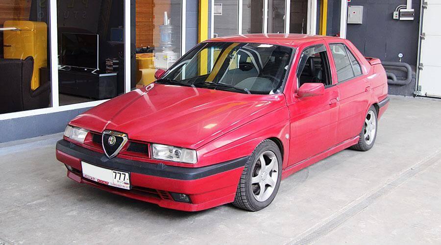 Полировка кузова и нанесением покрытия Optimum Opti Seal Alfa-Romeo 155 Q4