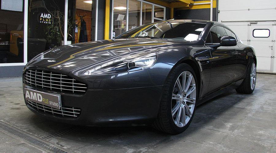 Комплексная восставновительная полировка Aston Martin Rapide