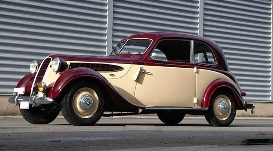 Комплексная перетяжка салона BMW 321 1948 года