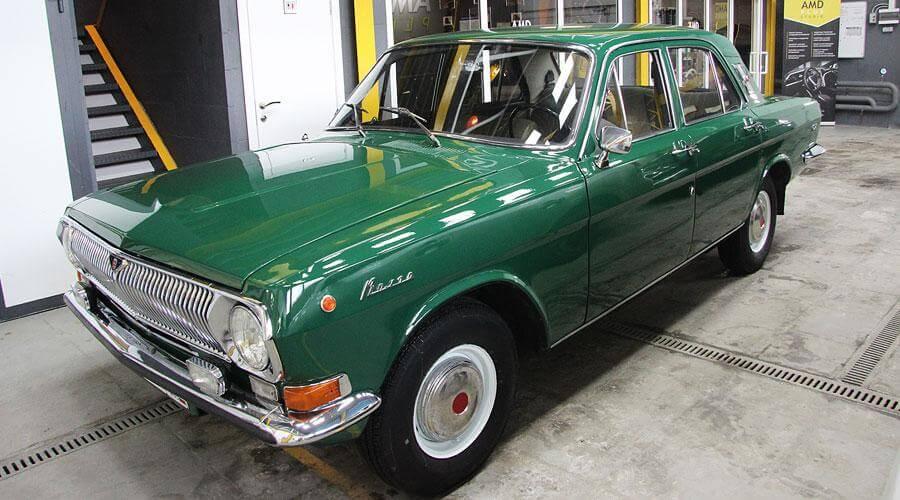 Полировка кузова ГАЗ 24