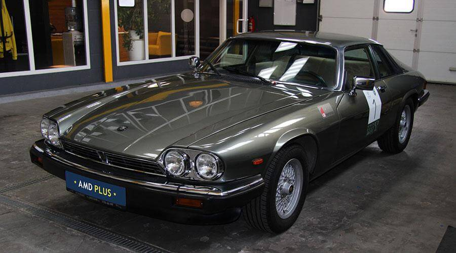 Комплексная реставрация салона Jaguar XJS V12