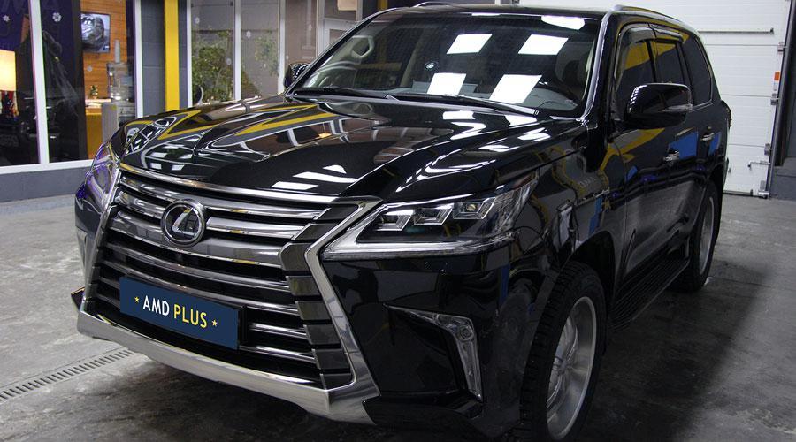 Детейлинг мойка Lexus LX-570 New