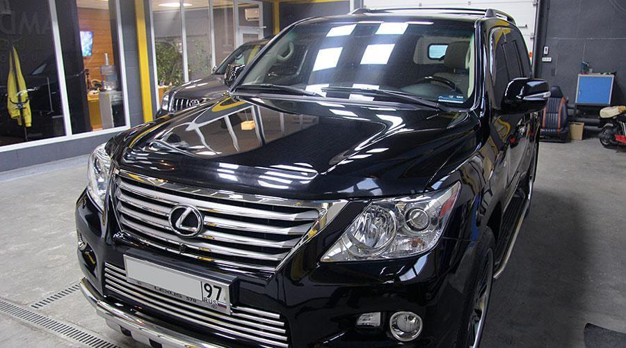 Керамическое покрытие Opti-Coat Pro Lexus LX570