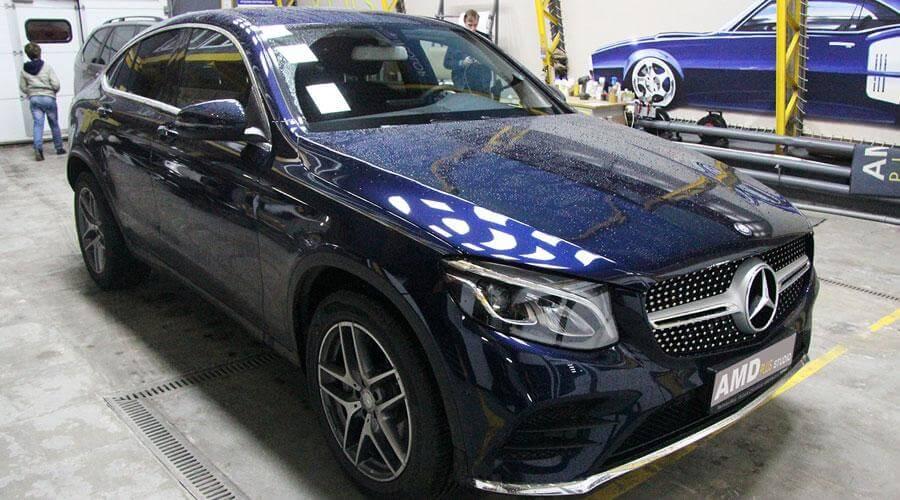 Полировка и защитное покрытие Optimum Gloss Coat Mercedes GLC 250