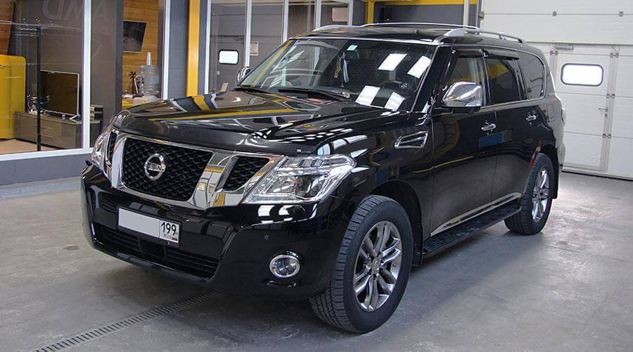 Защитное покрытие Opti-Coat Pro Nissan Patrol