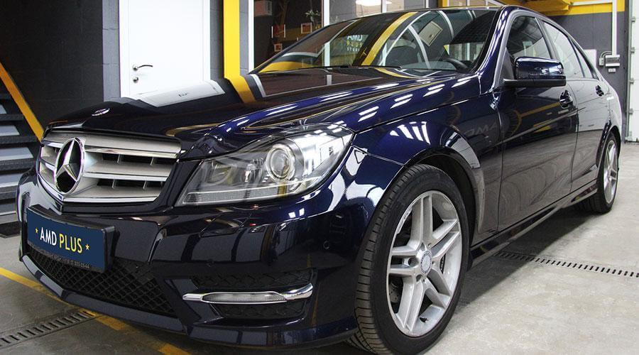 Полировка и защитное покрытие Opti-Coat Pro Mercedes C180