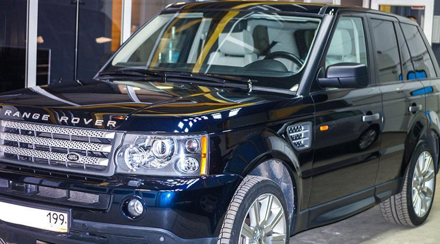Комплексная химчистка салона Range Rover
