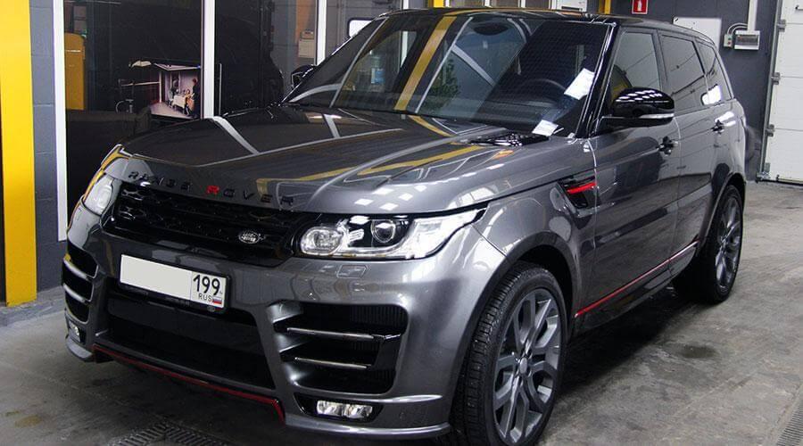 Защитное покрытие Opti-Coat Pro Plus Range Rover Sport