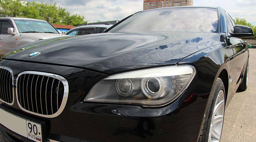 Защитное покрытие кузова Gloss Coat BMW 750
