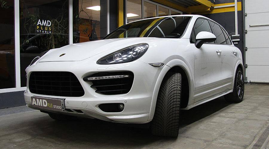 Керамическое покрытие Opti-Coat Pro Porsche Cayenne