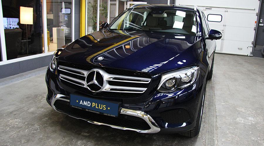 Нанесение керамического покрытия Opti-Coat Pro Mercedes-Benz GLC