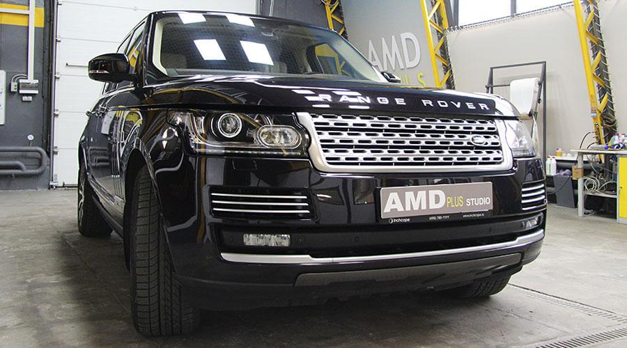 Керамическое покрытие Opti-Coat Pro Plus Range Rover