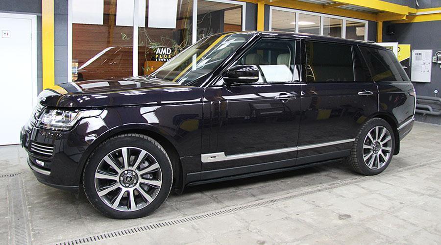 Покрытие Opti-Coat Pro Plus Range Rover