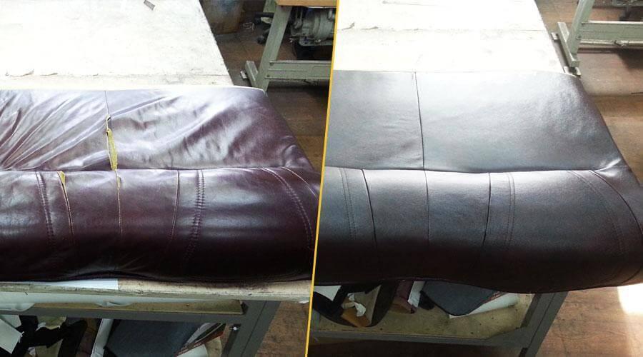 Перетяжка подушки дивана