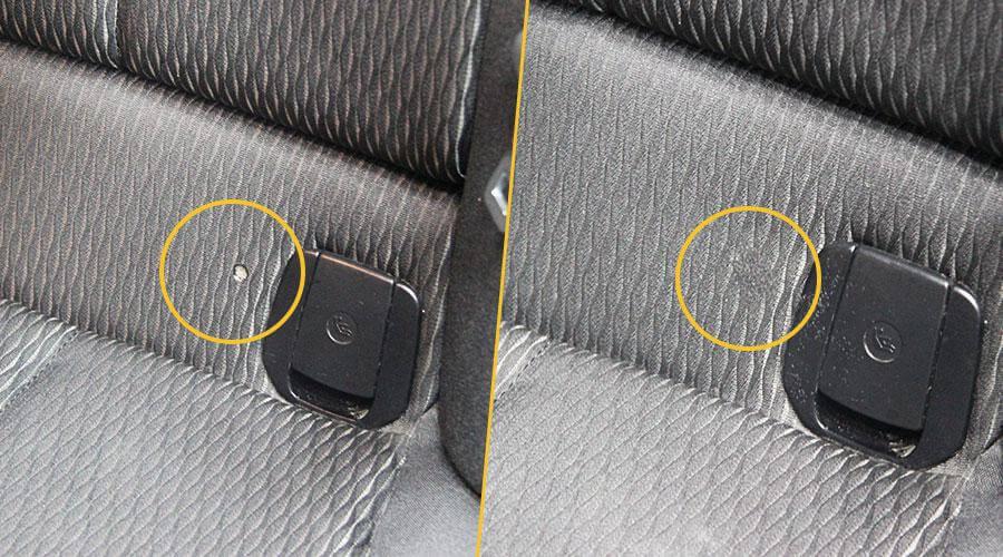 Удаление прожога BMW 116